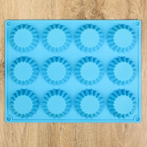 Форма для выпечки 12 ячеек, 34,5х26х3см для карзинок