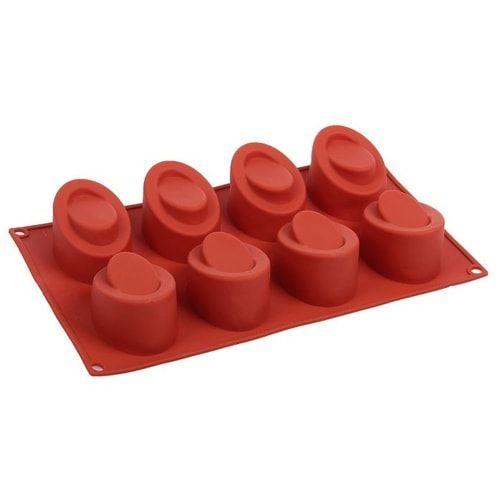 Форма для выпечки 8 ячеек, 30х17,5х4,5 см