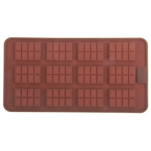 "Форма для шоколада, 12 ячеек, 21х11 ""Плитка"""