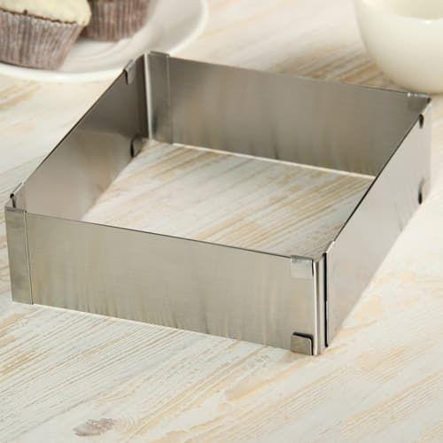Форма металическая с регулировкой размера 160-285   H50мм
