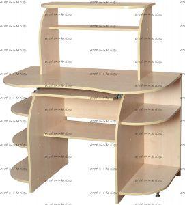 Стол компьютерный МХ-17 (124x65x124)