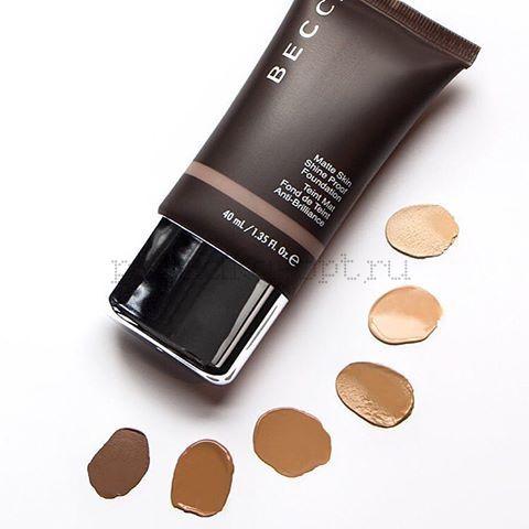 Matte Skin Shine-Proof Foundation - Основа под макияж с матовым эффектом