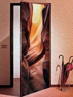 Наклейка на дверь -  Гранд каньон купить в магазине Интерьерные наклейки