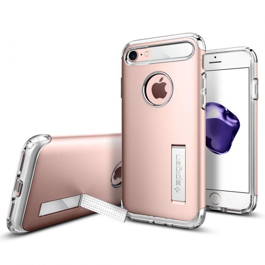 Чехол Spigen Slim Armor для iPhone 7 розовое золото