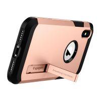 Чехол Spigen Tough Armor для iPhone X румяное золото