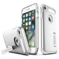 Чехол Spigen Slim Armor для iPhone 7 серебристый
