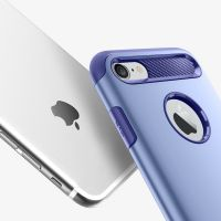 Чехол Spigen Slim Armor для iPhone 7 сиреневый