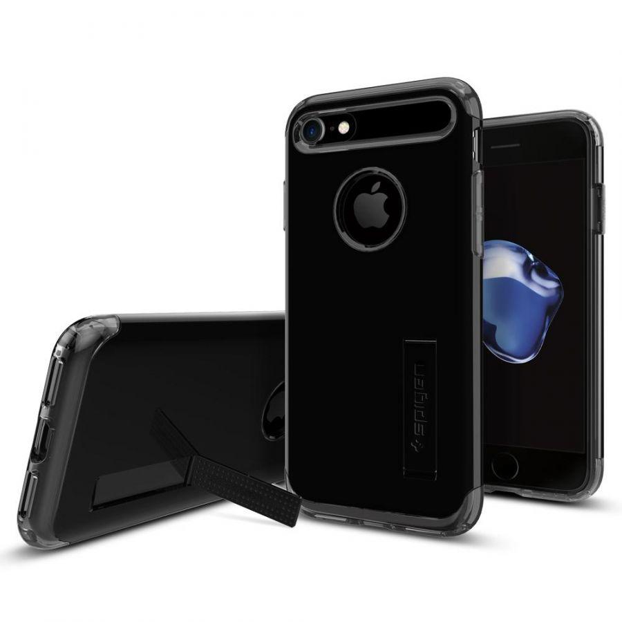 Чехол Spigen Slim Armor для iPhone 7 ультра черный
