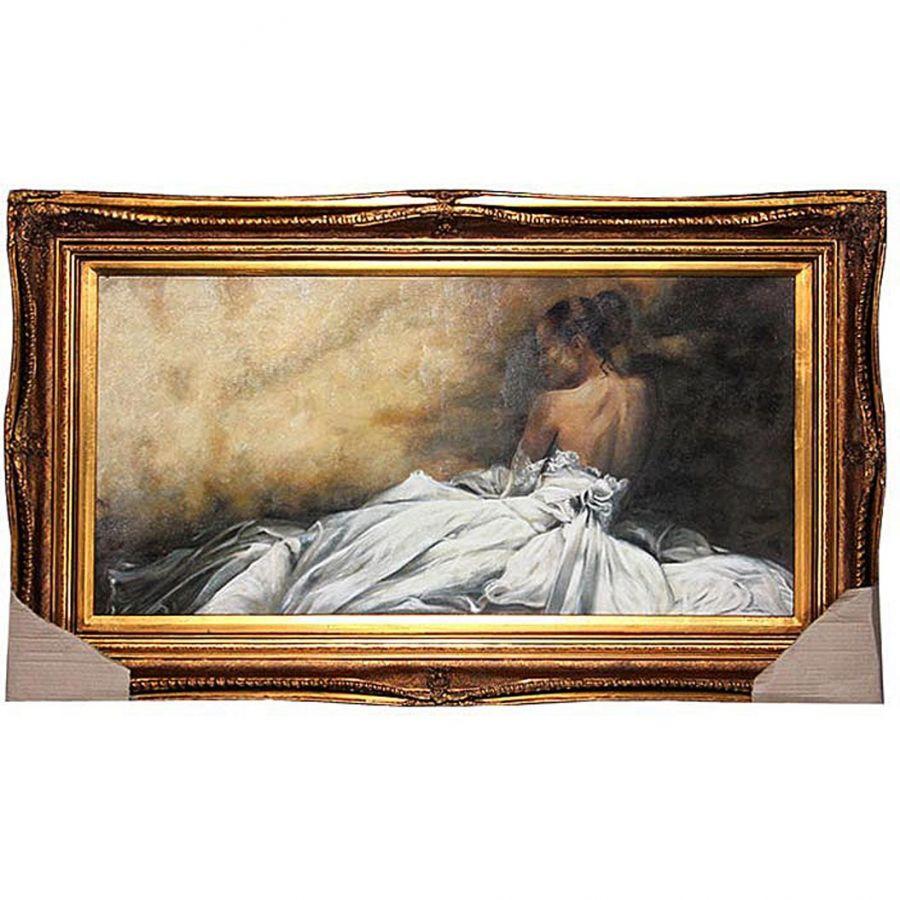 Картина полотно 100x50 см., багет 125x75 см.