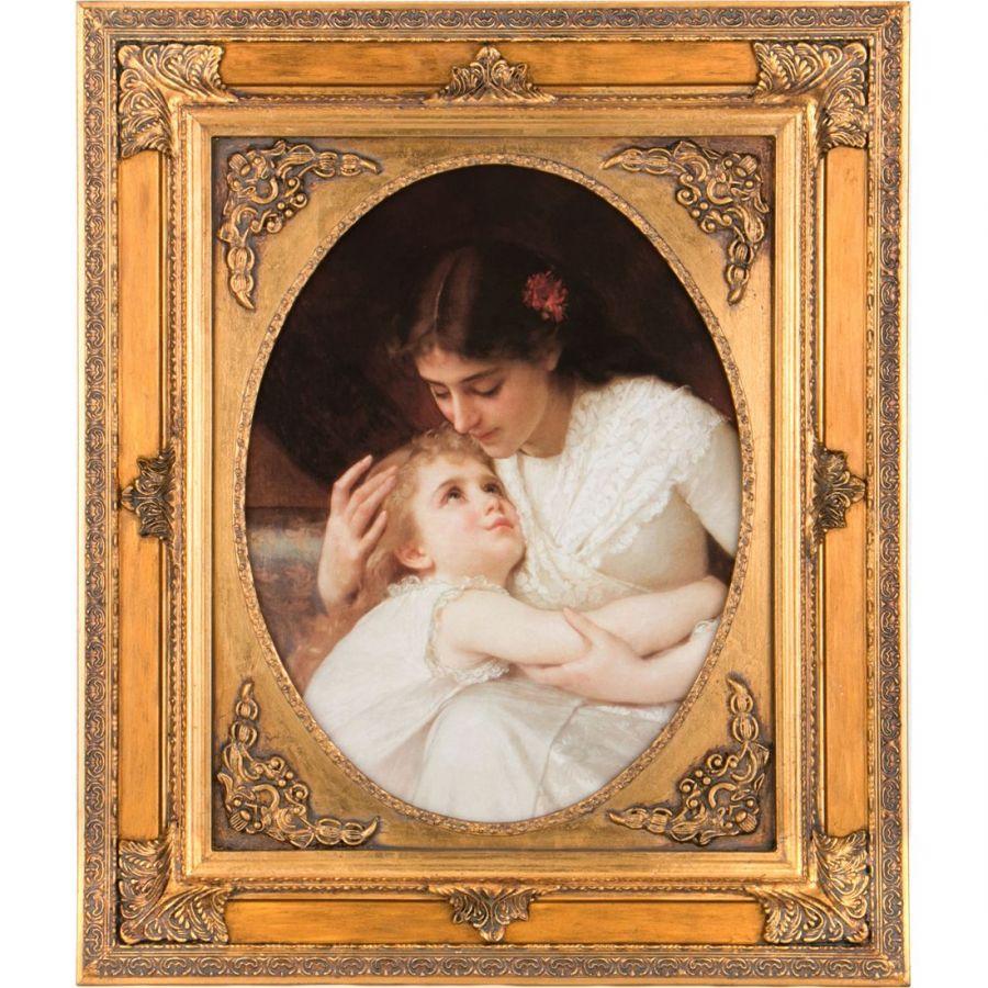 Картина полотно 41x50 см., багет 63x73 см.