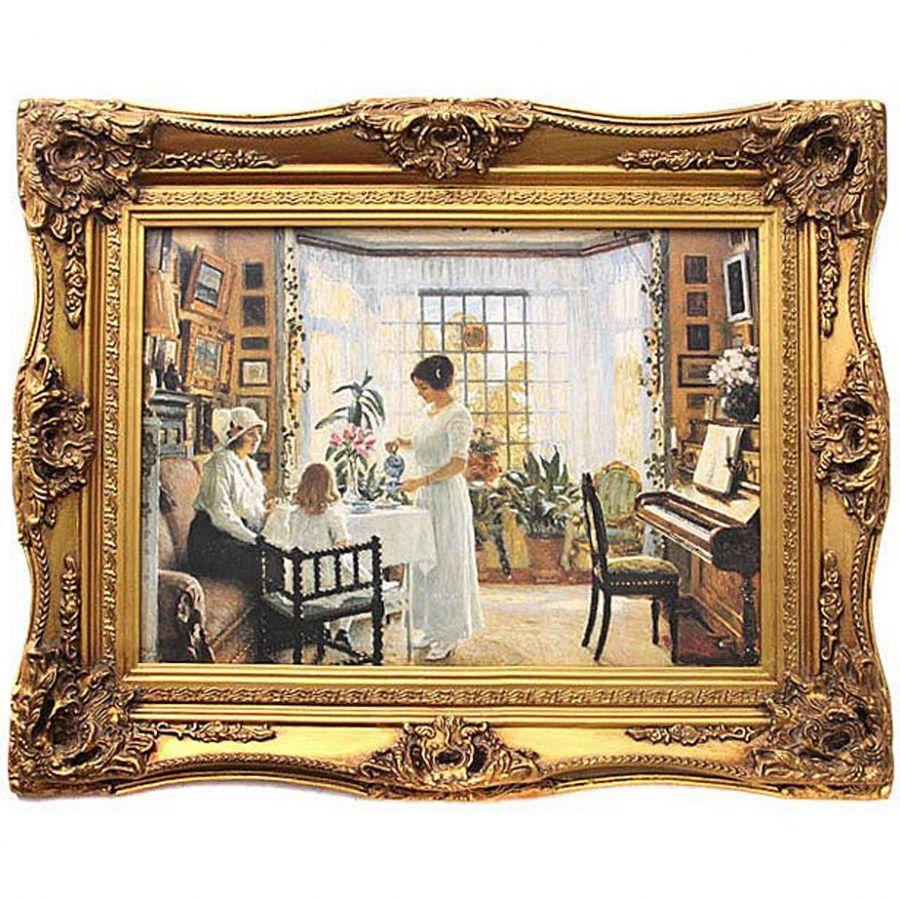 Картина полотно 70x50 см., багет 98x78 см.
