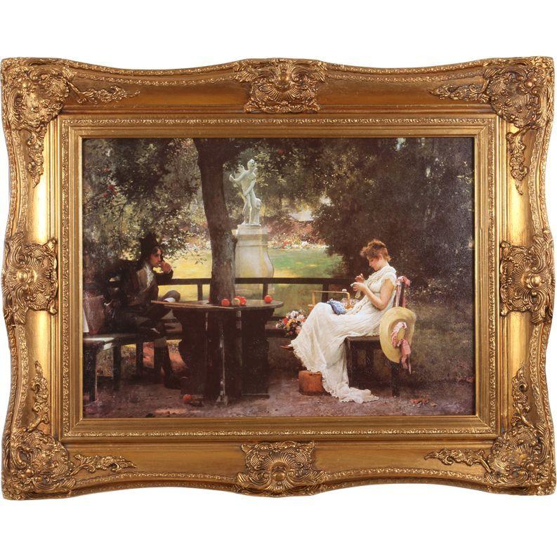 Картина полотно 70x50 см., багет 99x79 см.