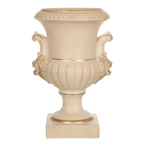 """Кубок со львами """"Романо"""", старинный персиковый, h=48 см."""
