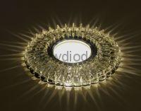 Точечный Светильник OREOL Crystal 7312B 115/60mm Под Лампу MR16 Белый