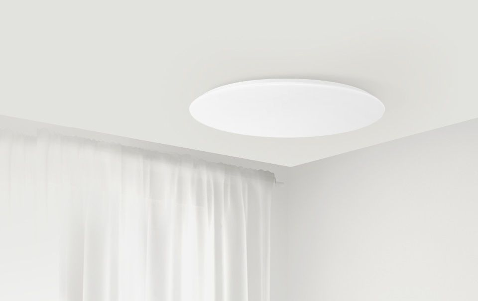 Светодиодный светильник Xiaomi Yeelight JIAOYUE Bright Moon LED Intelligent Ceiling Lamp (YLXD16YL) 450 мм