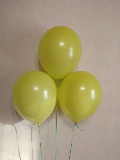 Яблоко (желто-зеленый) шар с гелием