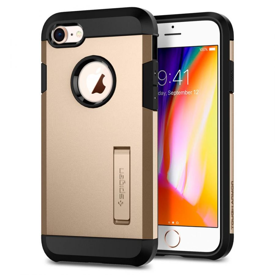 Чехол Spigen Tough Armor 2 для iPhone 7 золотой