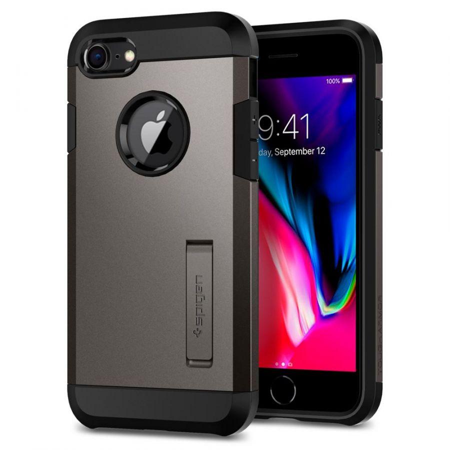 Чехол Spigen Tough Armor 2 для iPhone 7 темный металлик