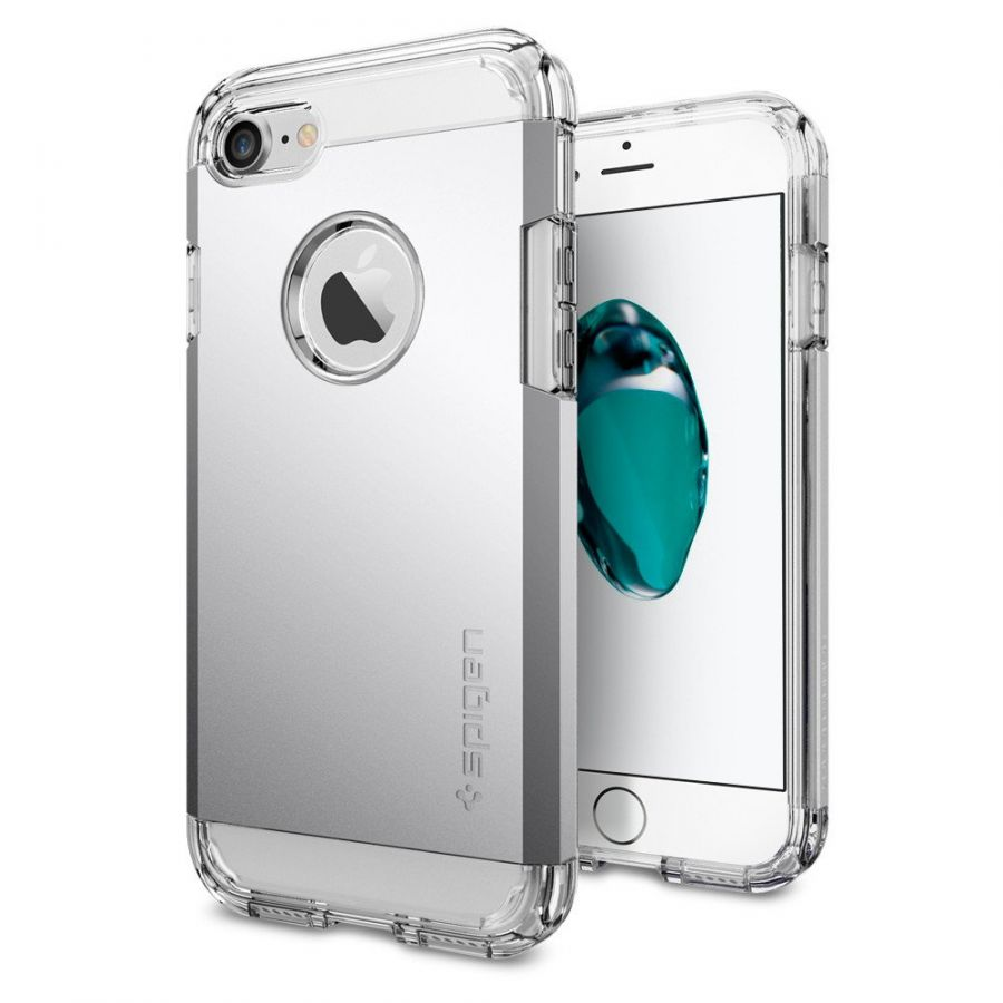 Чехол Spigen Tough Armor для iPhone 7 серебристый
