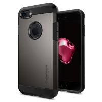 Чехол Spigen Tough Armor для iPhone 7 стальной