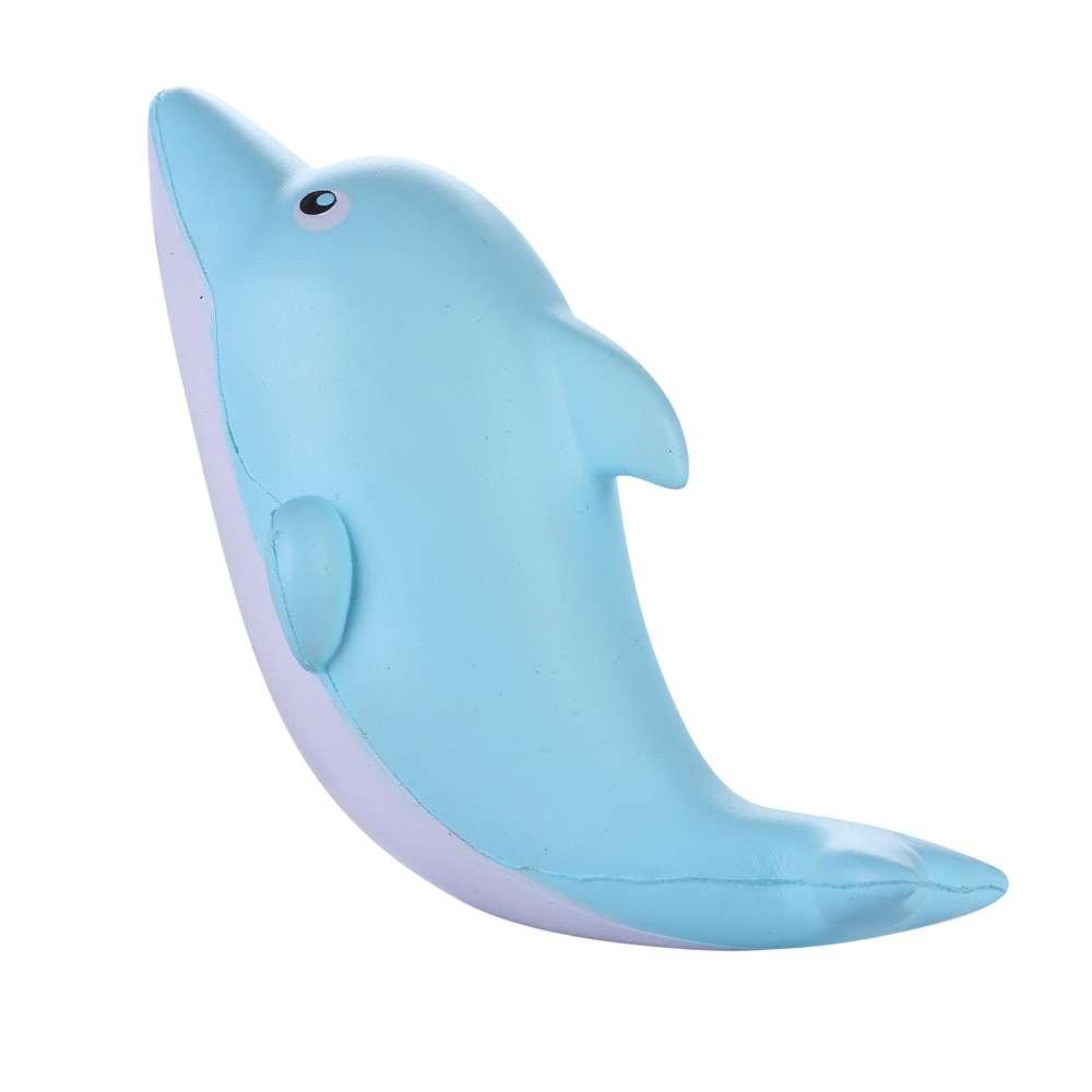 Сквиши брелок дельфин
