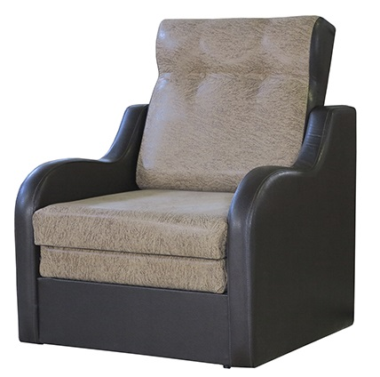 """Кресло-кровать """"Классика В"""" Замша"""