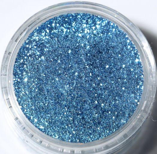 Блестки П 106 Зеркальный блеск Германия Голубой стальной, однотонный (средний помол). Очень красивый.