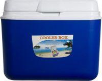 Изотермический контейнер Cooler Box 26 литров синий