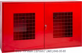 Щит пожарный закрытый с сеткой ЩПЗ-С Престиж (без комплектующих)