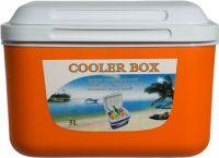 Изотермический контейнер Cooler Box 5 литров оранжевый