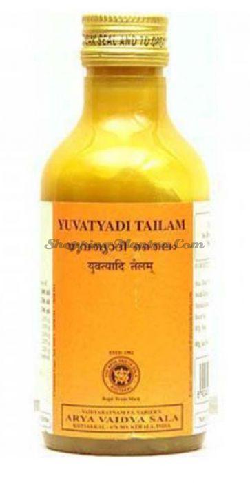 Юватьяди Тайлам (масло) для упругости груди Коттаккал | AVS Kottakkal Yuvatyadi Tailam