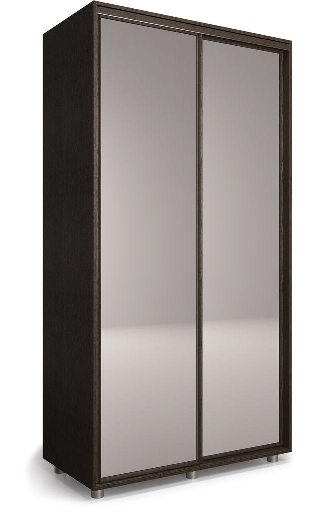 Шкаф-купе Удачный 1400 с 2-мя зеркалами
