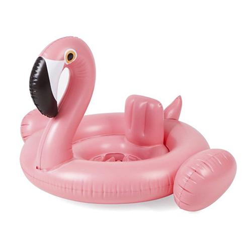 Надувной детский круг-фламинго Baby Inflatable Swan