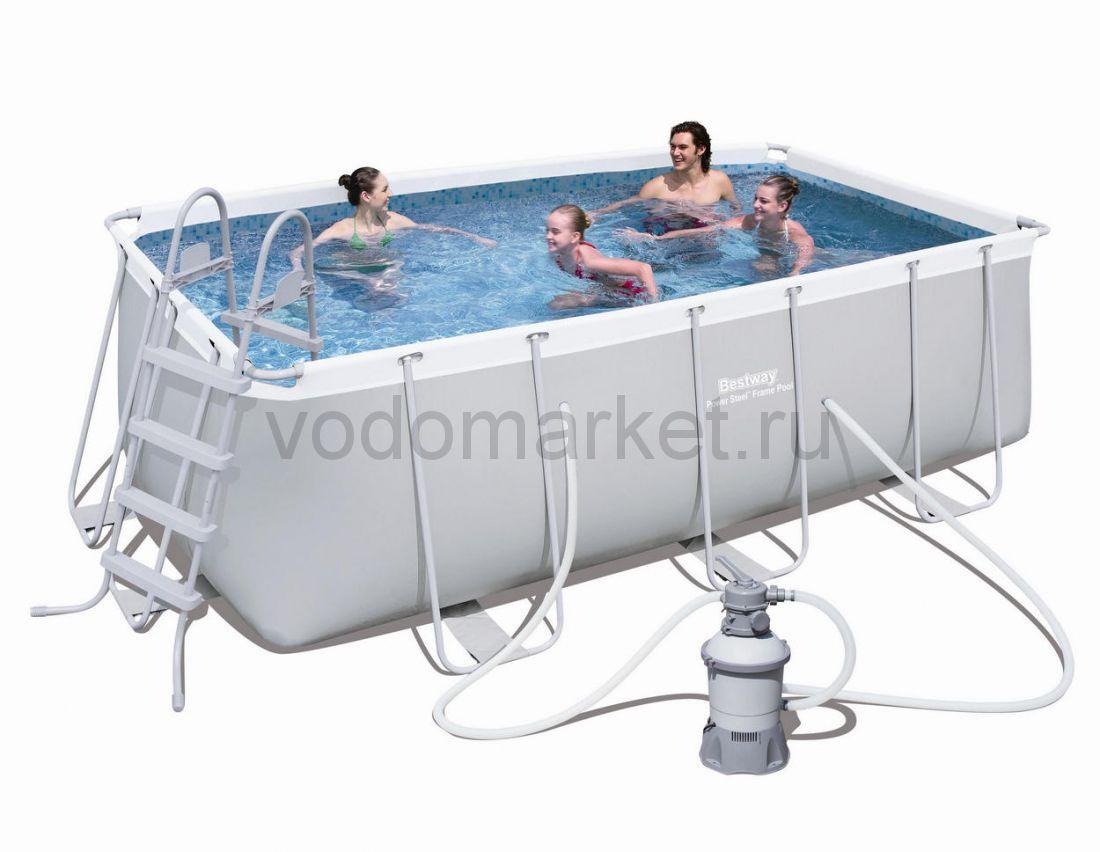 412х201х122см (56457) Bestway каркасный бассейн