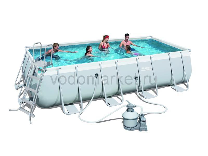 488х244х122см (56671) Bestway каркасный бассейн