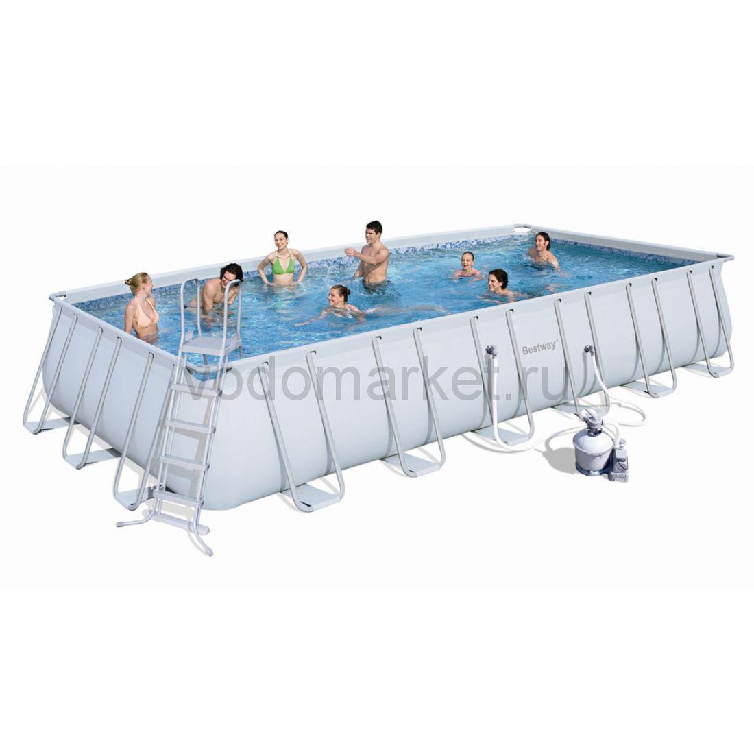 549х274х122см (56466) Bestway каркасный бассейн