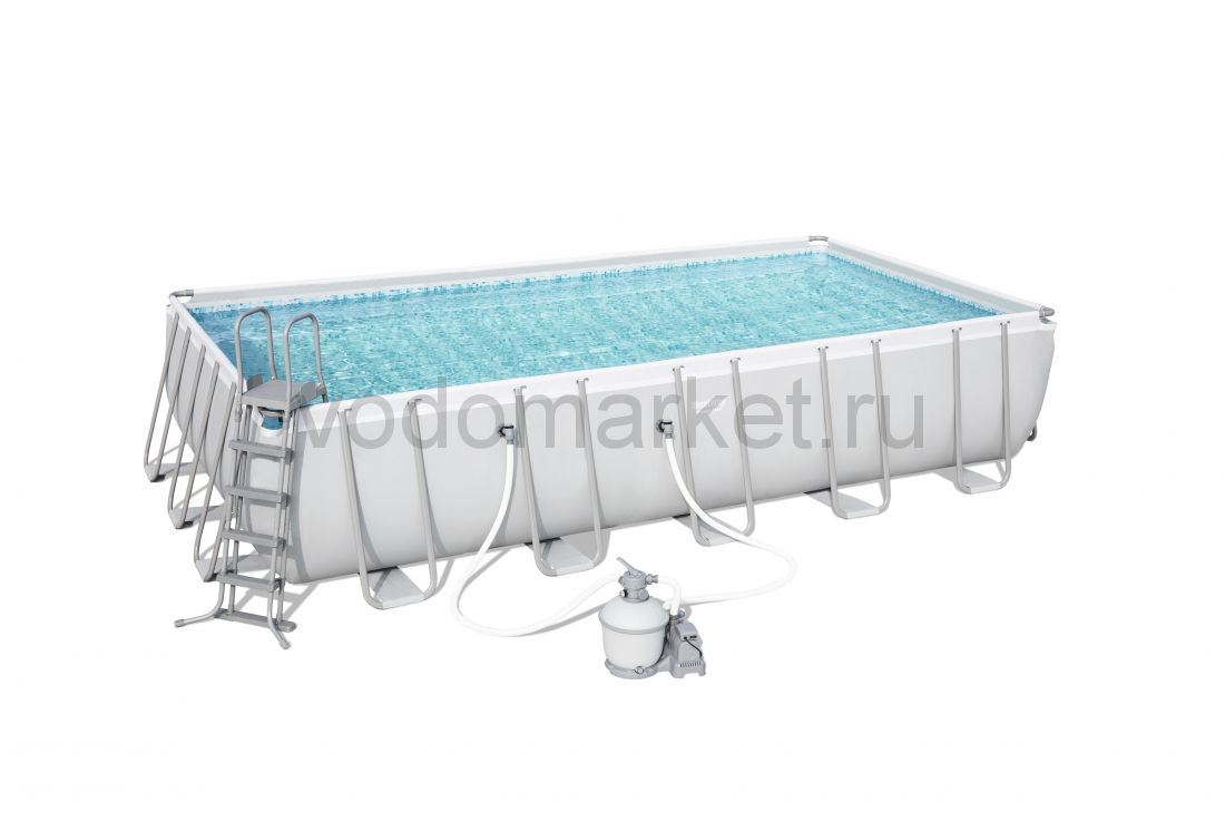 671х366х132см (56471) Bestway каркасный бассейн