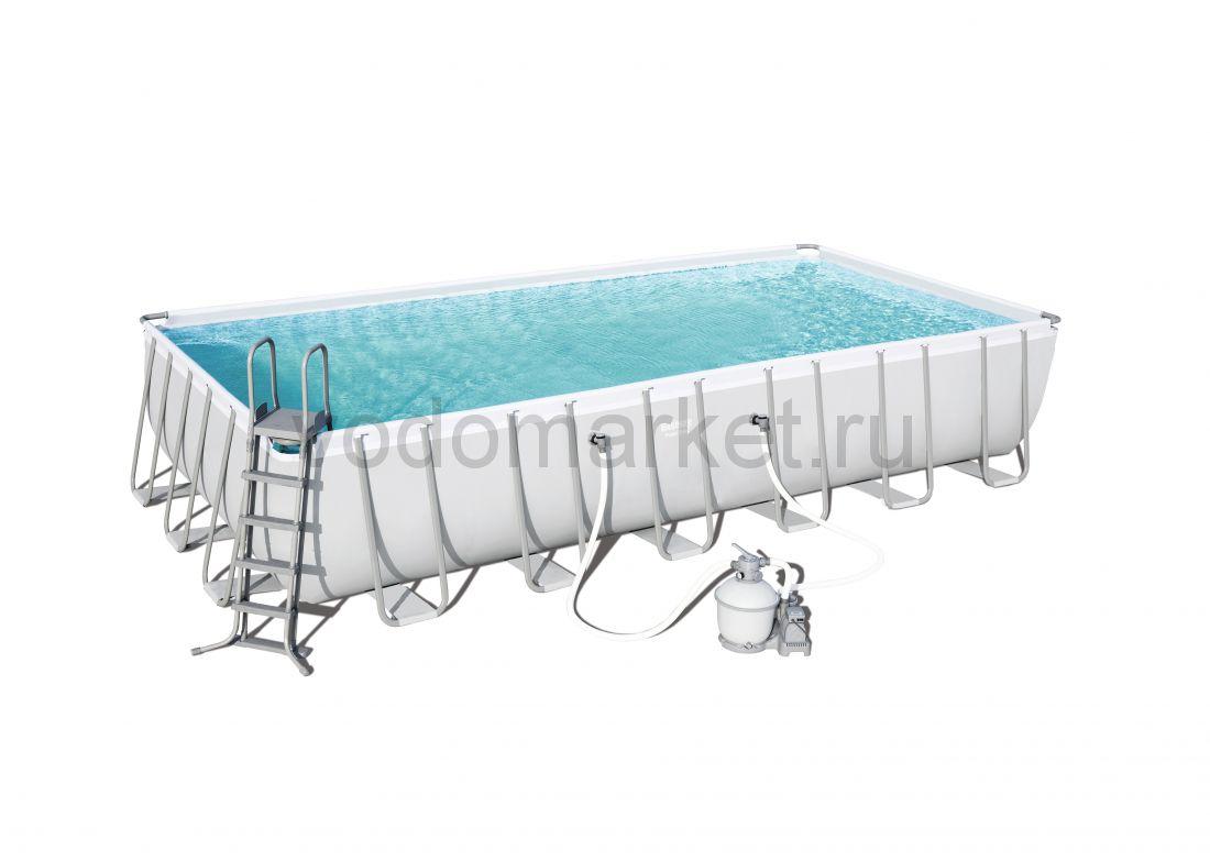 732х366х132см (56475) Bestway каркасный бассейн
