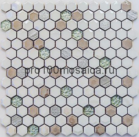 Deluxe. Мозаика СОТЫ, размер, мм: 305*302*5 (Bonaparte)