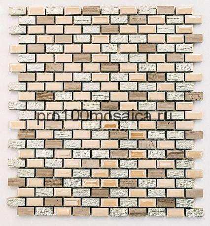SELECT Мозаика чип 12х25, 306*297*8 мм (Bonaparte)