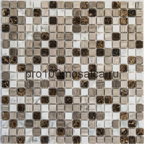 Detroit POL камень. Мозаика серия STONE,  размер, мм: 305*305*4 (BONAPARTE)