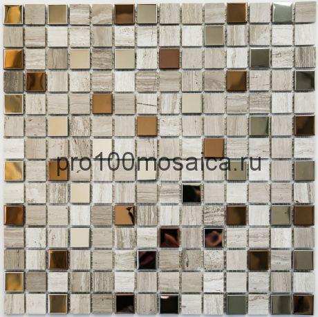 Amsterdam POL камень. Мозаика серия STONE,  размер, мм: 305*305*4 (BONAPARTE)