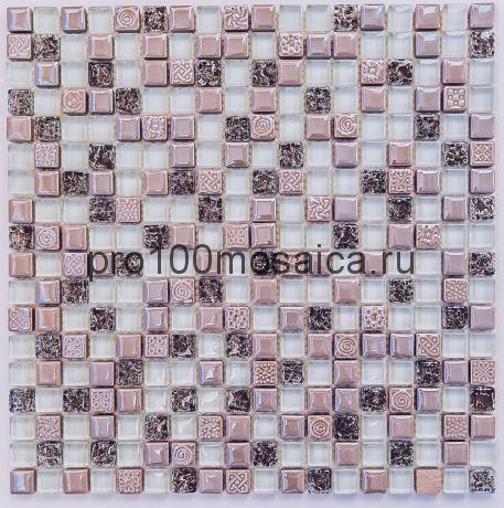 Plaza Мозаика 15*15 серия EXCLUSIVE, размер, мм: 300*300*8 (Bonaparte)