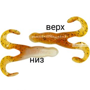 """Мягкая приманка Relax Turbo Frog  4""""  10см / упаковка 5 шт / цвет:  TF4-L001"""