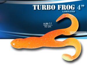"""Мягкая приманка Relax Turbo Frog  4""""  10см / упаковка 5 шт / цвет:  TF4-L119"""