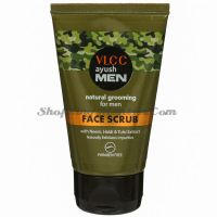 Скраб для лица для мужчин VLCC Ayush Men Face Scrub