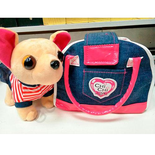 Плюшевая собачка в сумке CHI CHI LOVE