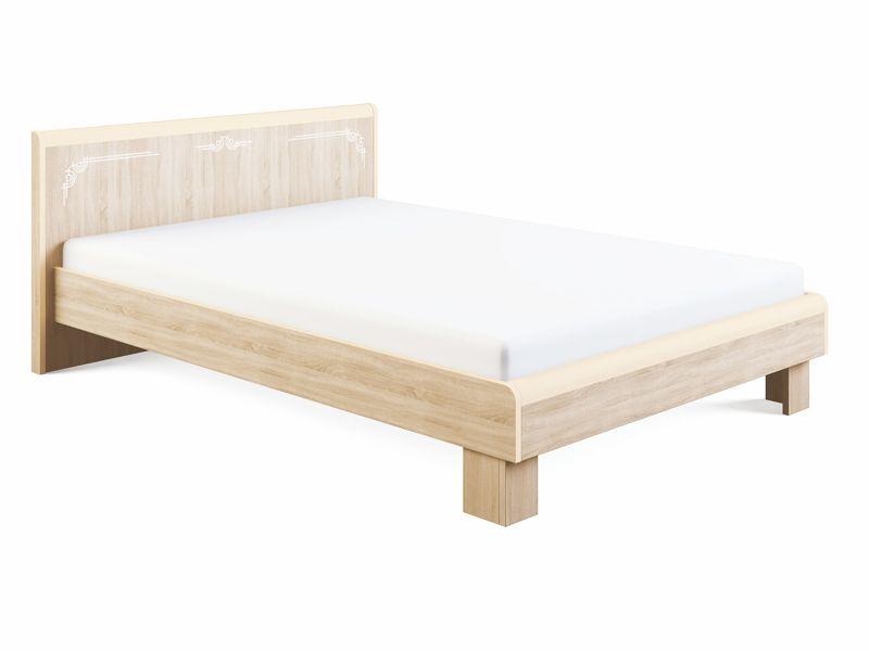 Кровать Оливия спинка МДФ и ортопедическое основание