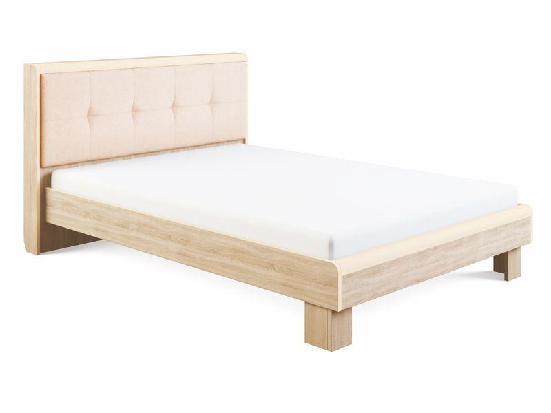 Кровать Оливия с мягкой спинкой и ортопедическим основанием