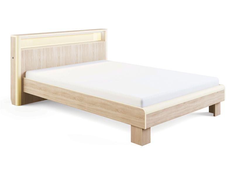 Кровать Оливия с подсветкой и ортопедическим основанием